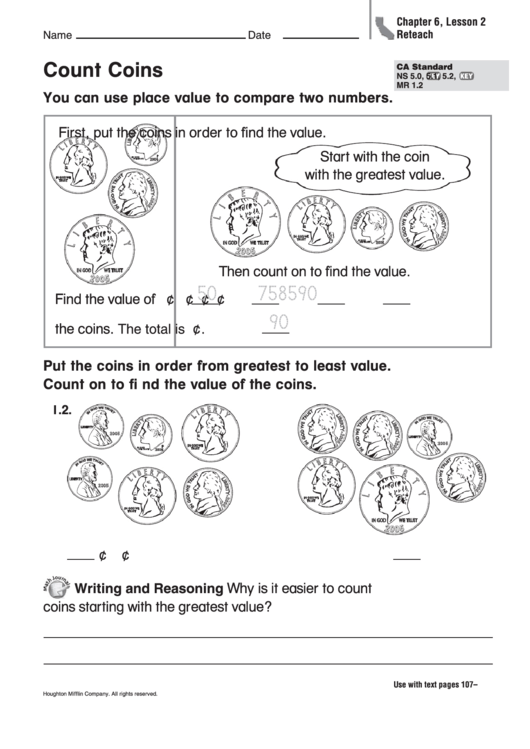 Count Coins Worksheet Printable Pdf Download. Count Coins Worksheet. Worksheet. Count Coins Worksheet At Mspartners.co