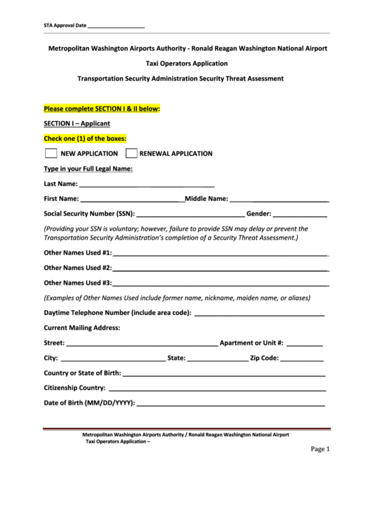 page_1_thumb_big Taxi Application Form on application in spanish, application insights, application to join a club, application to date my son, application to be my boyfriend, application trial, application template, application meaning in science, application for employment, application database diagram, application service provider, application to join motorcycle club, application approved, application clip art, application cartoon, application for rental, application error, application to rent california, application for scholarship sample,
