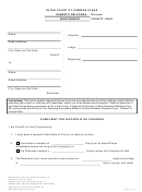 Complaint For Divorce With Children