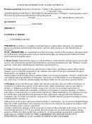 Gasoline & Diesel Fuel Sales Contract Template