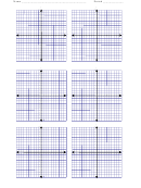Graph Paper With Axis Worksheet Template