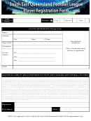South East Queensland Football League Player Registration Template