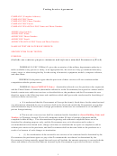 Test Service Agreement - Federal Laboratory Consortium