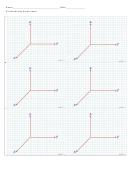 R3 Coordinate Graph Paper
