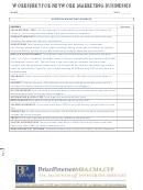 Worksheet For Network Marketing Businesses