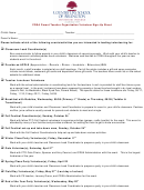 Cdsa Parent Teacher Organization Volunteer Sign Up Sheet