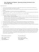 Form Fis 2137 - Bond - Mortgage Loan Originator - Company - Michigan Department Of Insurance And Financial Services