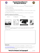 Tsunamis: Know What To Do! Kindergarten Worksheet