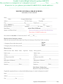 South Central High School Information Sheet - South Central Schools