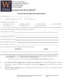 Summer School Medical Information Sheet