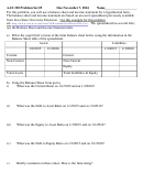 Balance Sheet And Income Statement Worksheet