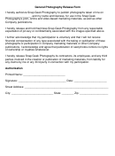 General Photography Release Form