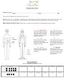 Dwana Smallwood Student Size Chart