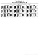 Piano Chords C3