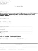 W2 Replacement Form - Sentech Services
