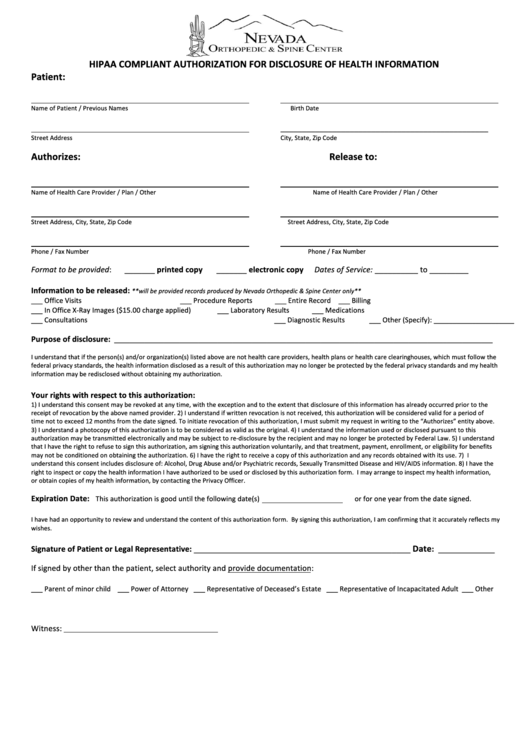 page_1_thumb_big Ohio Health Medical Authorization Form on printable emergency, template word, free editable, for child, credit card, employer emergency, for adults, for minor child,