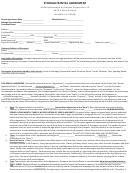 Storage Rental Agreement