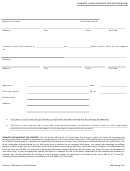 Child Support Self Certification Form