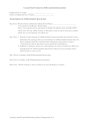 Lesson Plan Format For Differentiated Instruction