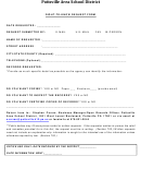 Right To Know Request Form - Pottsville Area School District