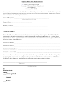 Right To Know Request Form - Borough Of Emmaus