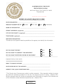Right To Know Request Form - Lawrence County