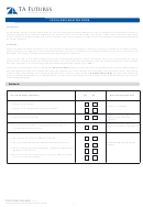 Fatca Declaration Form