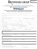 Workers Compensation Application