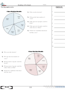 Reading A Pie Graph Math Practice Sheets