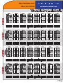 Basic Fingering Chart Basic Fingering Chart
