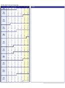 2016-2017 School Calendar Template