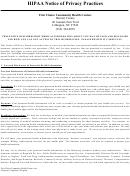Hipaa Notice Of Privacy Practices Form - North Carolina