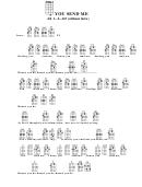 You Send Me (ukulele Chord Chart)