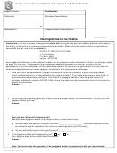 Osca (04-16) Cv110 - Interrogatories To Garnishee