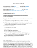 Iowa Army National Guard Non Standard Vacancy Sample