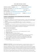 Iowa Army National Guard Non Standard Vacancy Sample