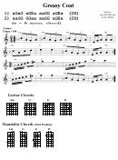 Guitar Chords Mandolin Chords Greasy Coat