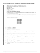 Practice Problems For Mte 2 - Operations With Positive Decimals