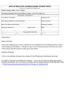 Employee Address/name Change Form - Compensation