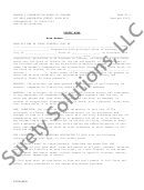Form Si-2 - Surety Bond (worker's Compensation Board Of Indiana)