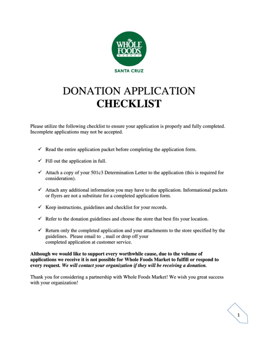 donation request form printable pdf download