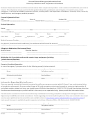 Emergency Contact Information Form - University Of Northern Iowa