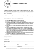 Donation Request Form - Moxie Kitchen