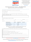 Nonprofit Ticket Donation Program - Ticket Request Form