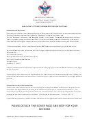 eagle scout letter of recommendation template with instructions
