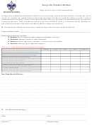 Eagle Scout Letter Of Recommendation Template