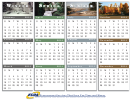 Monthly Calendar Template - 2014-2015