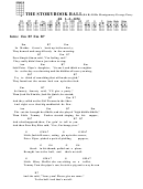The Storybook Ball (bar) - Billie Montgomery/george Perry Chord Chart