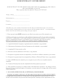 Subcontract Cover Sheet - Dewees Construction