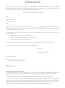 Draft Vendor Contract Letter For Planned E-rate Purchase